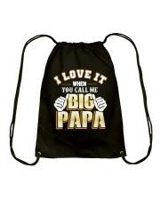 DAD DAD DAD Drawstring Bag thumbnail