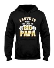 DAD DAD DAD Hooded Sweatshirt front