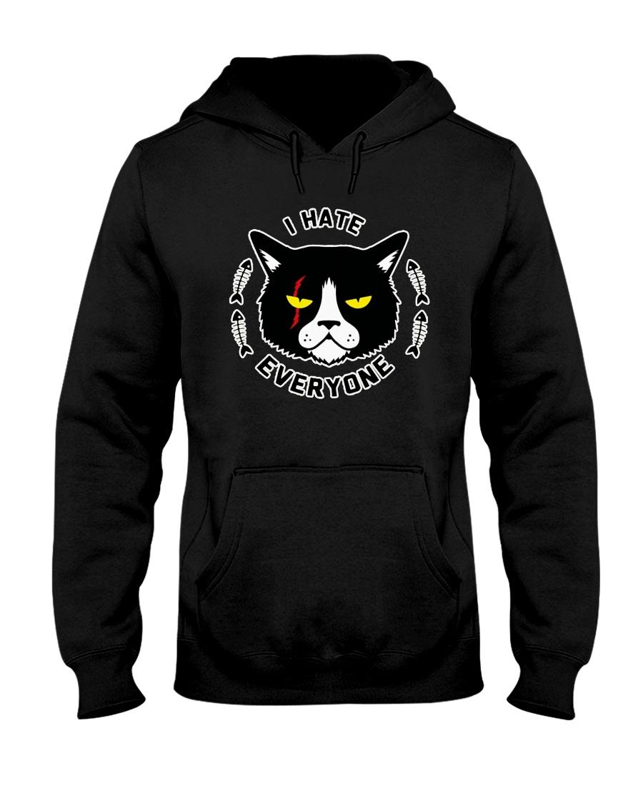 CAT CAT CAT CAT Hooded Sweatshirt