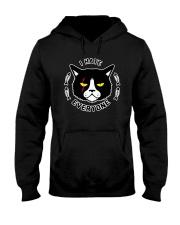 CAT CAT CAT CAT Hooded Sweatshirt front