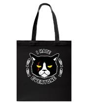 CAT CAT CAT CAT Tote Bag thumbnail