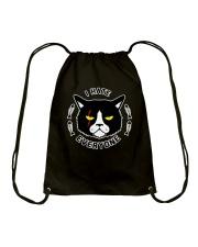 CAT CAT CAT CAT Drawstring Bag thumbnail