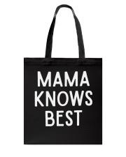 Mom Mom Mom Tote Bag thumbnail