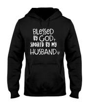 HUSBAND HUSBAND HUSBAND Hooded Sweatshirt front