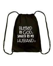 HUSBAND HUSBAND HUSBAND Drawstring Bag thumbnail
