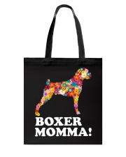 Boxer Dog Momma Tote Bag thumbnail