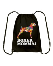 Boxer Dog Momma Drawstring Bag thumbnail