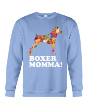 Boxer Dog Momma Crewneck Sweatshirt thumbnail