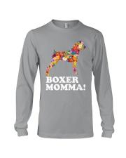Boxer Dog Momma Long Sleeve Tee thumbnail