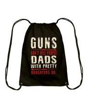 DAD DAD DAD Drawstring Bag tile