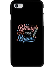 Beauty and  Brains Phone Case thumbnail