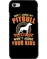 LIMITED EDITION JUDGE MY PITBULL Phone Case tile