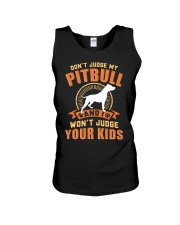 LIMITED EDITION JUDGE MY PITBULL Unisex Tank tile