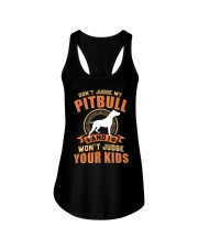 LIMITED EDITION JUDGE MY PITBULL Ladies Flowy Tank tile