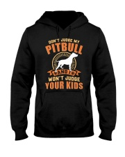 LIMITED EDITION JUDGE MY PITBULL Hooded Sweatshirt tile