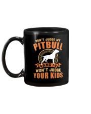 LIMITED EDITION JUDGE MY PITBULL Mug back