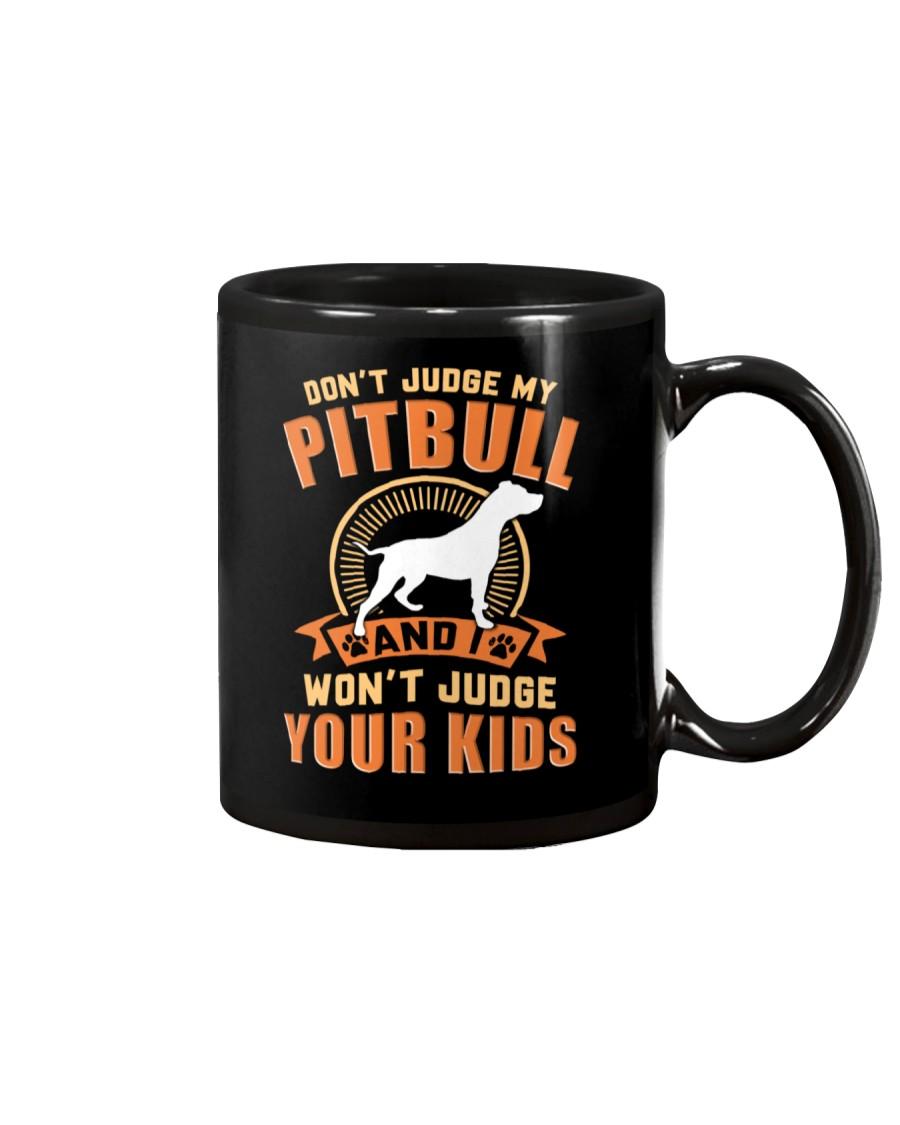LIMITED EDITION JUDGE MY PITBULL Mug