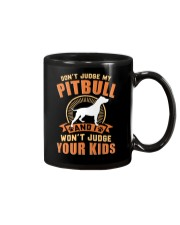 LIMITED EDITION JUDGE MY PITBULL Mug tile