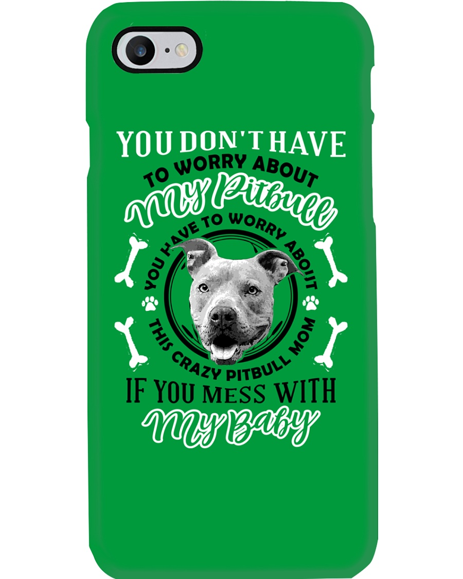 LIMITED EDITION MY BABY PITBULL Phone Case