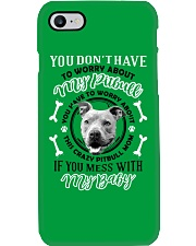 LIMITED EDITION MY BABY PITBULL Phone Case i-phone-7-case