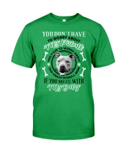 LIMITED EDITION MY BABY PITBULL Classic T-Shirt front