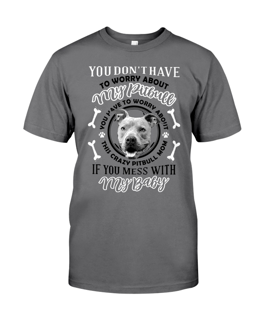 LIMITED EDITION MY BABY PITBULL Premium Fit Mens Tee