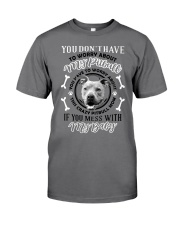 LIMITED EDITION MY BABY PITBULL Premium Fit Mens Tee tile
