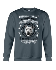 LIMITED EDITION MY BABY PITBULL Crewneck Sweatshirt thumbnail