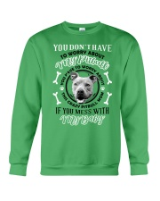 LIMITED EDITION MY BABY PITBULL Crewneck Sweatshirt front