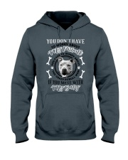 LIMITED EDITION MY BABY PITBULL Hooded Sweatshirt tile