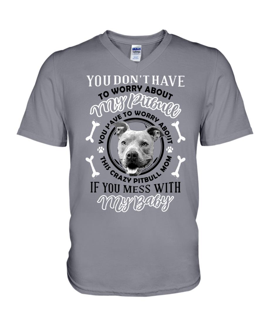 LIMITED EDITION MY BABY PITBULL V-Neck T-Shirt