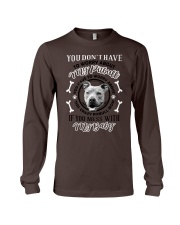 LIMITED EDITION MY BABY PITBULL Long Sleeve Tee tile