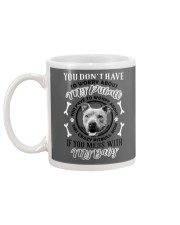 LIMITED EDITION MY BABY PITBULL Mug back