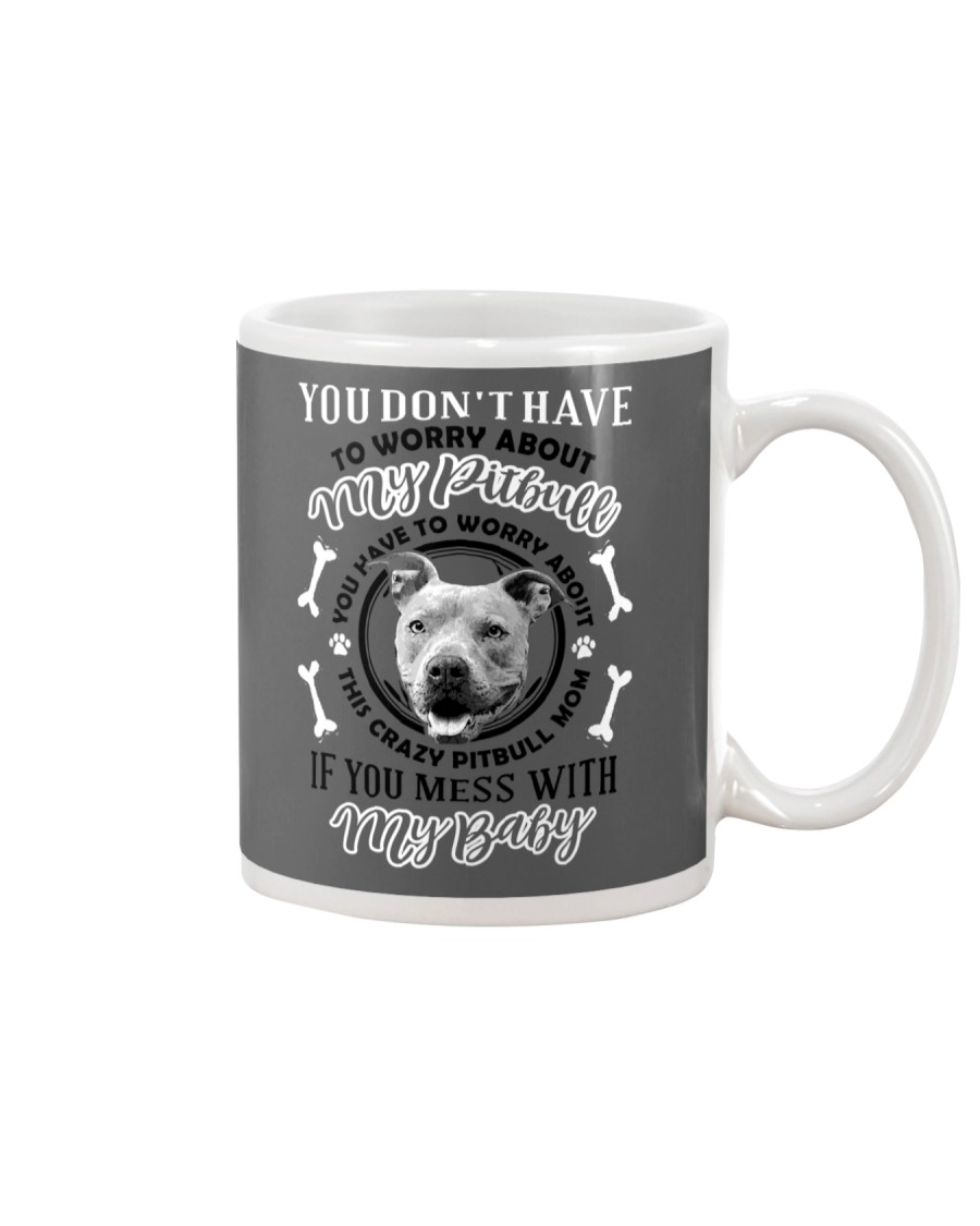 LIMITED EDITION MY BABY PITBULL Mug