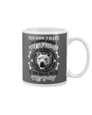 LIMITED EDITION MY BABY PITBULL Mug thumbnail