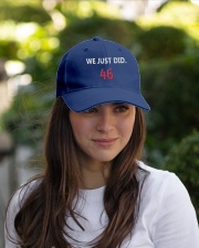 We Just Did Embroidered Hat garment-embroidery-hat-lifestyle-07