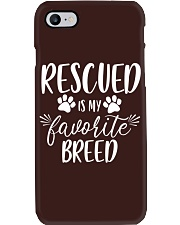 Rescue Mom Shirt - Gift For Her - Rescue Mama Phone Case thumbnail