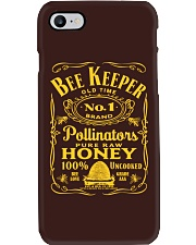 Vintage Style Beekeeper Shirt Phone Case tile