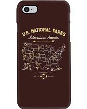 National Park Map Shirt Phone Case thumbnail