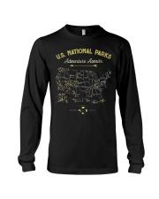 National Park Map Shirt Long Sleeve Tee thumbnail