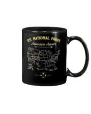 National Park Map Shirt Mug thumbnail