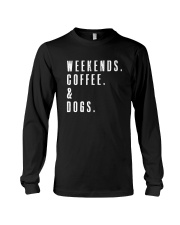 Dog Mom Shirt - Gift For Her - Dog Mama Long Sleeve Tee thumbnail