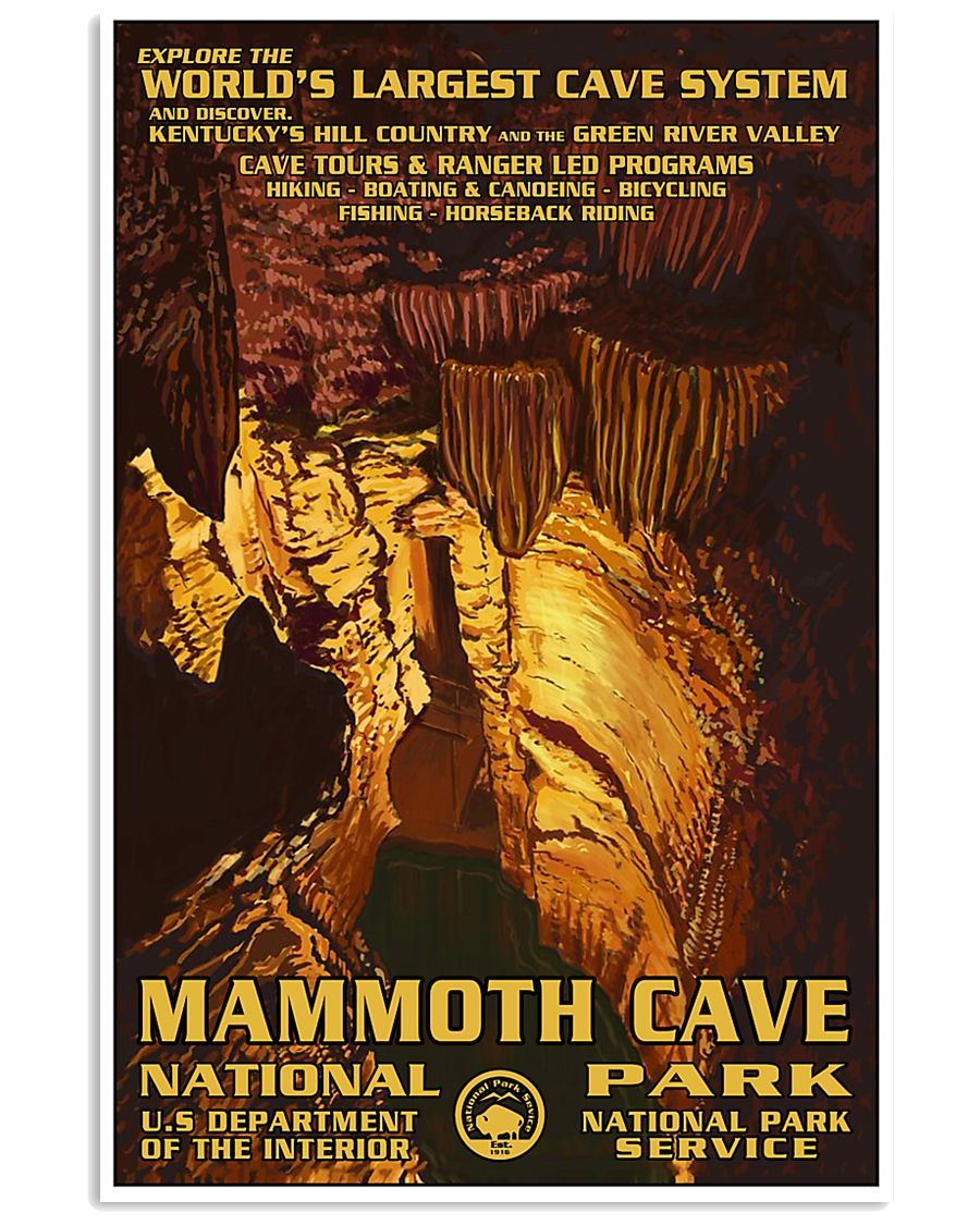 Mammoth Cave National Park 24x36 Poster