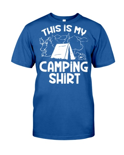THIS IS MY CAMPING T-SHIRT