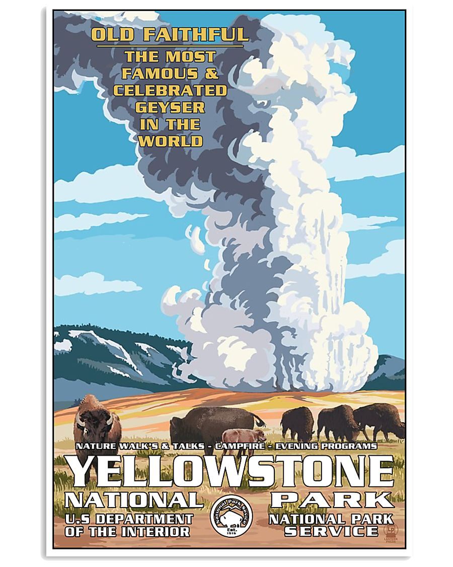 Yellowstone National Park 24x36 Poster
