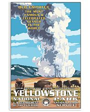 Yellowstone National Park 24x36 Poster front