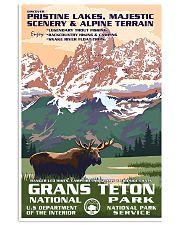 Grand Teton National Park 24x36 Poster front