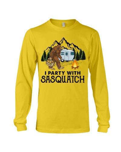 I party with sasquatch