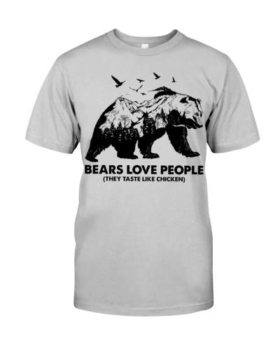 BEAR LOVE PEOPLE