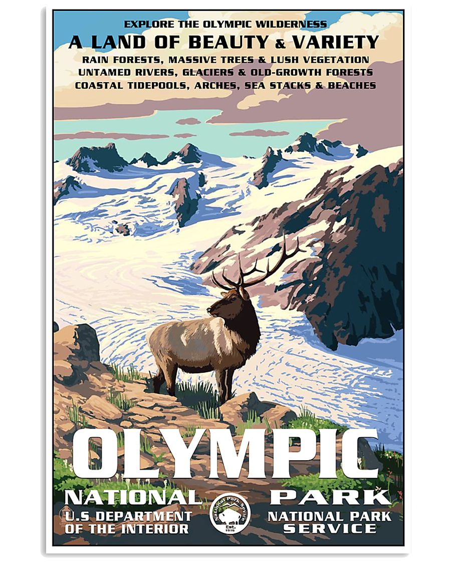 Olympic National Park 24x36 Poster